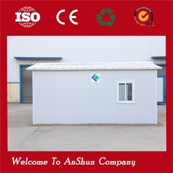 Free designed in high quality steel container prefab house module