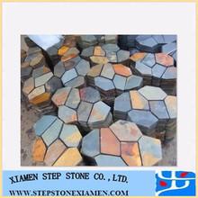 Random Rusty Slate Crazy Flagstone Paving Stone