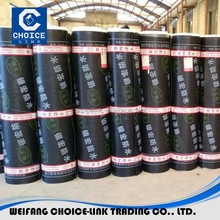 SBS asphalt waterproof membrane cheap roofing materials