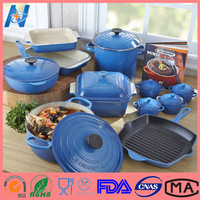 Durable Enameled Ceramic Non-Stick Cookware Set