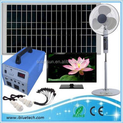 solar power pv system 70w mini home solar generators