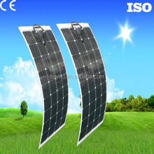Photovoltaic 100W Flexible Solar Panels Price From China