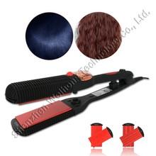 Women Use Portable No Heat Hair Straightener Cute Mini Cordless Hair Straightener Top Steam Hair Straightener