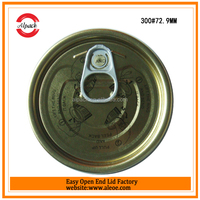 White metal tin composite can food vacuum lid