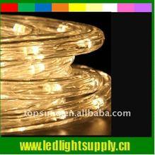 warm white flexible led rope lite 36led/m rope light led decoration lamp for bar