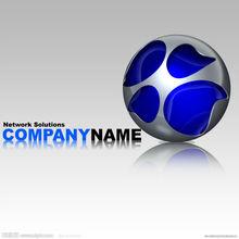 graphic 3D logo design service,professional 3D model design
