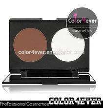 Wholesale Double Colors Contour Blusher Face Powder Palette Set face makeup powder