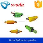 Curso longo fabricante do cilindro hidráulico para caminhões basculantes, terex 3305,3306,3307, tr45, tr50, tr60, tr100 caminhão