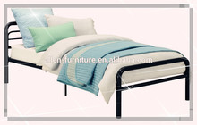"Modern design popular twin size single metal bed black color Metal Bed twin size black 31X78"""