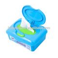 de alta calidad de bebé toallitas húmedas del frasco toallitas húmedas para bebés