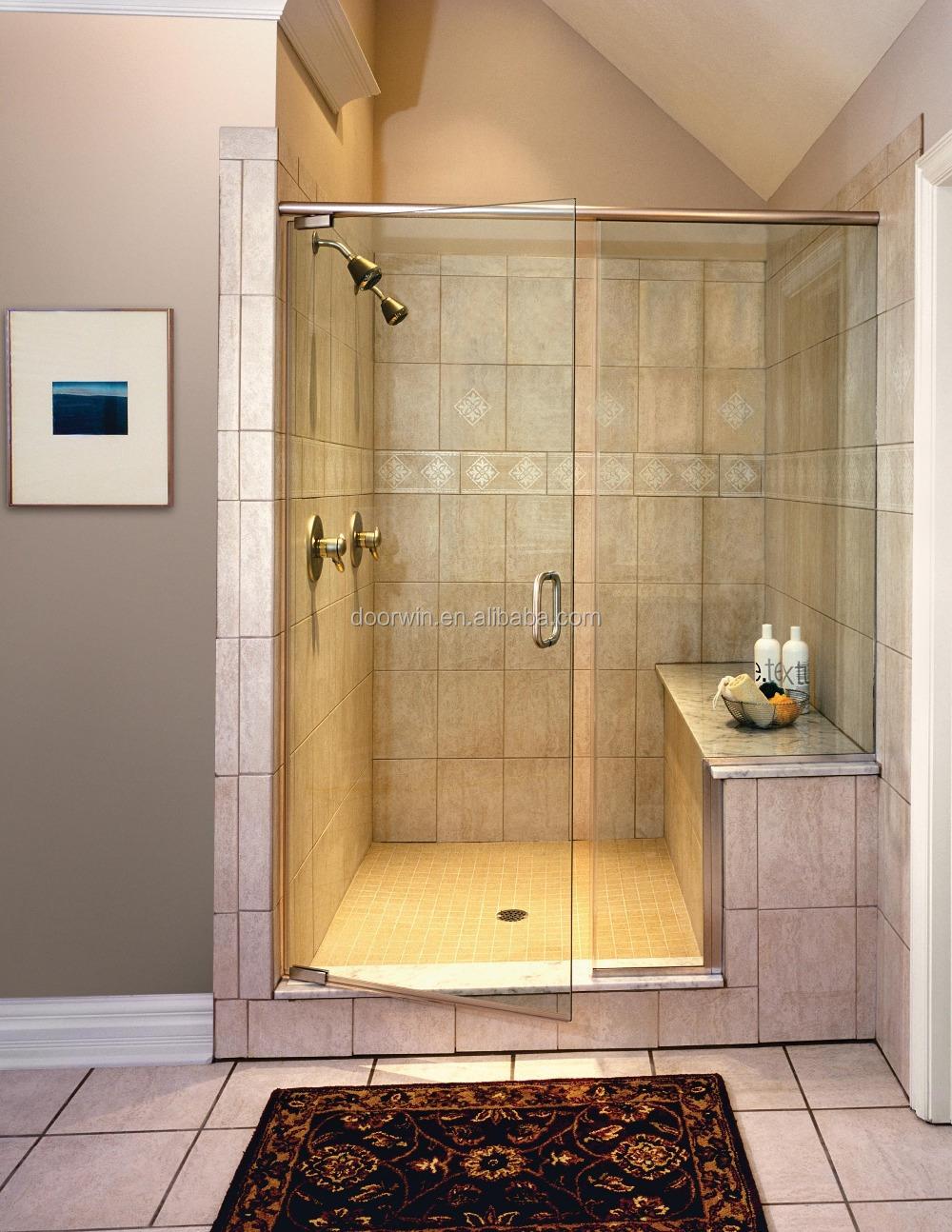 Frameless Glass Accordion Swing Shower Doors,Shower With Door - Buy ...