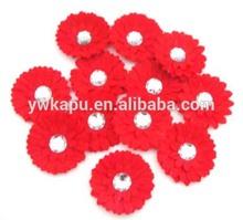 Falso multicolor flor de la margarita, margarita flores artesanales, gerbera daisy tela