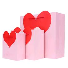 Valentine making paper gift bag/paper bag gift/wedding paper bag