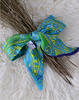 Fashionable Custom Silk Twilly Scarf For Bag Or Hair