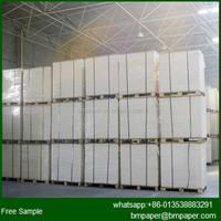 C2S 100% virgin wood pulp white couche paper art paper