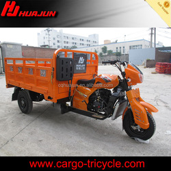 chinese three wheeler motorcycle/200cc triciclo motor/cargo tricycle manufactures
