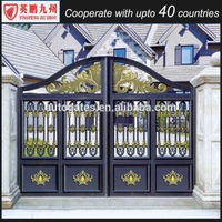House gate grill designs classical metal swing gate for garden