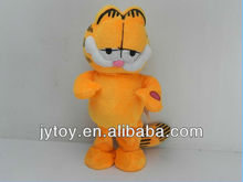 2013 Music action Soft Plush Coffee Cat