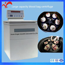 Top quality multi speed high capacity blood bank centrifuge,refrigerated centrifuge/centrifuge machine factory