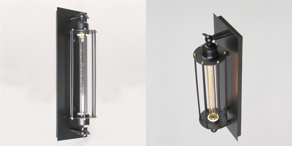 Настенный светильник Weinleseantike industriellen mit e27 + + wandbeleuchtung