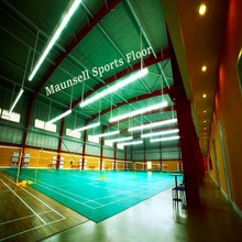 2015 Hot Sale Top Quality Pvc/Vinyl Badminton Sports Flooring