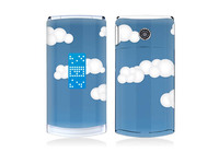 Cloud Vinyl Decal Screen Protector For LG Series, for GD580 sticker.