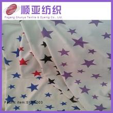 Single jersey knitted digital print fabric,custom print cotton fabric wholesale