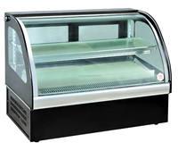 cake fridge display showcase refrigerated cake cabinet