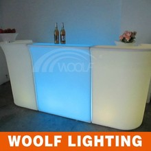 modern life fashionable led plastic bar stand bar