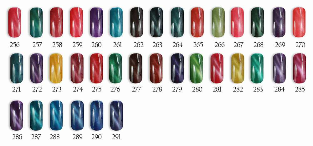 Cat Eye Magnet Nail Polish/cat Eye Gel Polish/magnetic Gel Polish ...