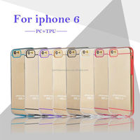 Best Quality Logo Available PC TPU Case For iphone 6 4.7''