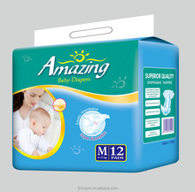2015 breathable baby diaper baby nappy in bales for south africa