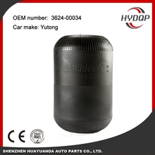 Rubber air spring for trucks and bus