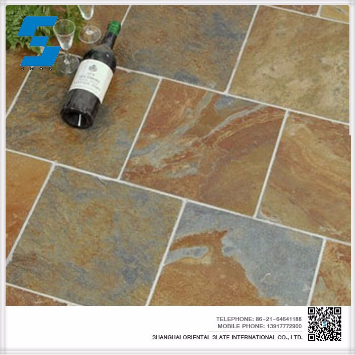 hot sale natural slate stone cheap floor tiles for sale On floor tiles for sale
