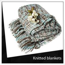 Free Sample Knitted Satin Blanket