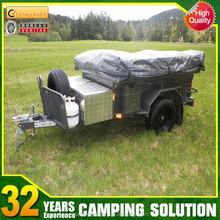 Heavy duty off road steel camper trailer