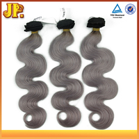 JP Hair NEW!!!!!!! Virgin Gray Body Wave Brazilian Human Hair Extension