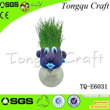 Advertising Gifts face grass Romantic kindergarten spring crafts , mister grass