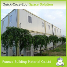 Anti Earthquake Good insulated Functional Prefab Office Container