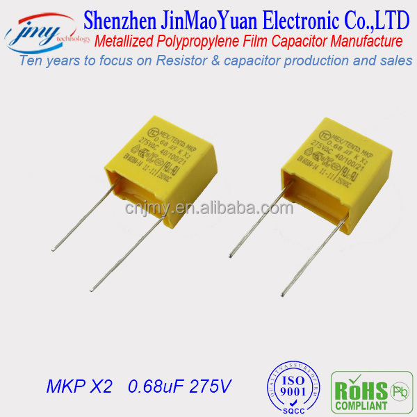 Metal Film Capacitors Metallized Film Capacitor Mkp