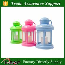 Top selling Classic home decoration plstic Chinese LED lantern,barn lantern,hurricane lantern
