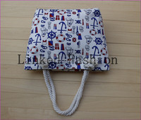 Newest Designer Cheap Beautiful lady handbag tote canvas bags