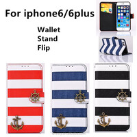 Hot For iphone6 case Cool Pirate ship phone cases 4.7 inch mobile phone case Apple 6 wallet Protective sleeve alibaba express