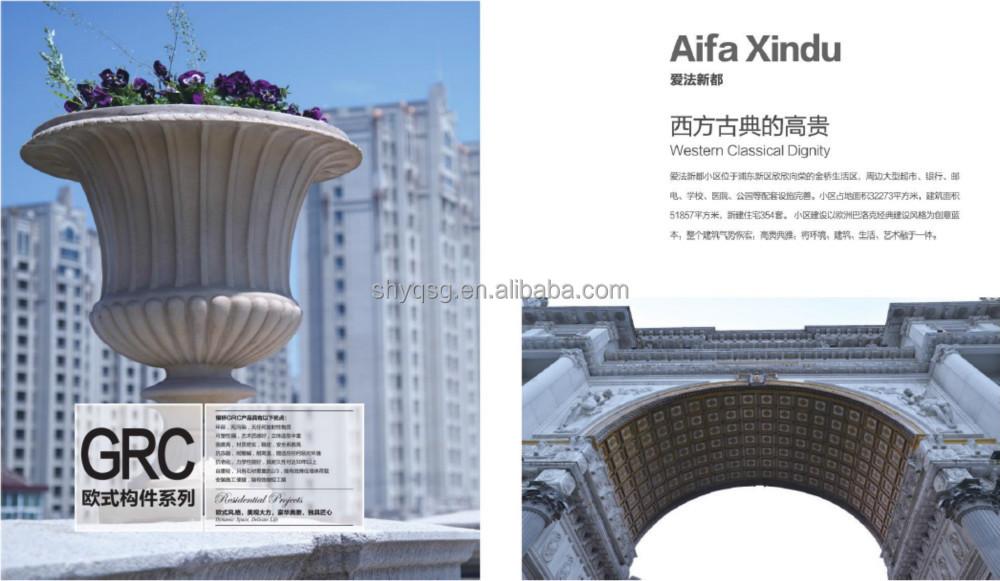 Home Decor Grc Columns For Wedding Decorating Fiberglass
