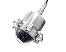 New design underwater borehole 360 degree camera with LED Light Source