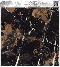 Marble bases for sculptures in Portoro gold price