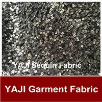 2014 NEW BLACK DESIGN sequin fabric