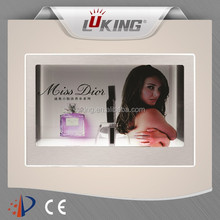 22 inch clear transparent lcd panel display box