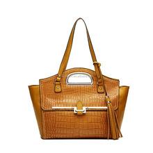 Wholesale 100% Genuine Leather Elegant Designer Crocodile Women Handbag Shoulder Bag,Cheap Price,Global Shipping From China