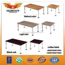 Modern new design wood coffee table /tea table with 4 legs HY-C22